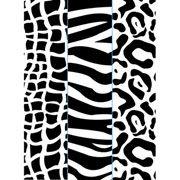 "Animal Print Trio (4.25""x5.75"") embossing folder by Darice"