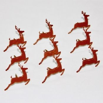 Prancing Deer Brads by Eyelet Outlet