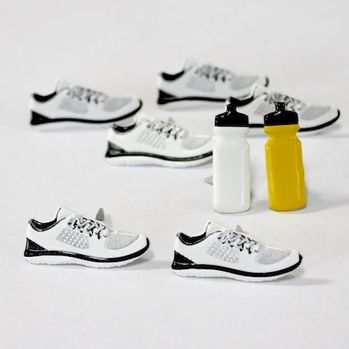 Running Brads (sneakers & water bottles) by Eyelet Outlet