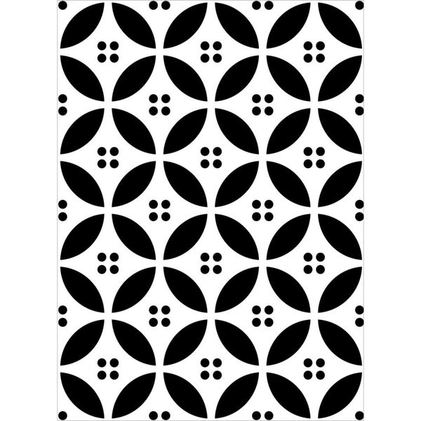 "Dot and Circle Embossing Folder (4.25""x5.75"") by Darice"