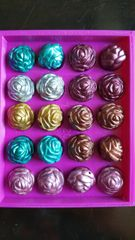 Rose Beads (19mm) 20pcs per pack.