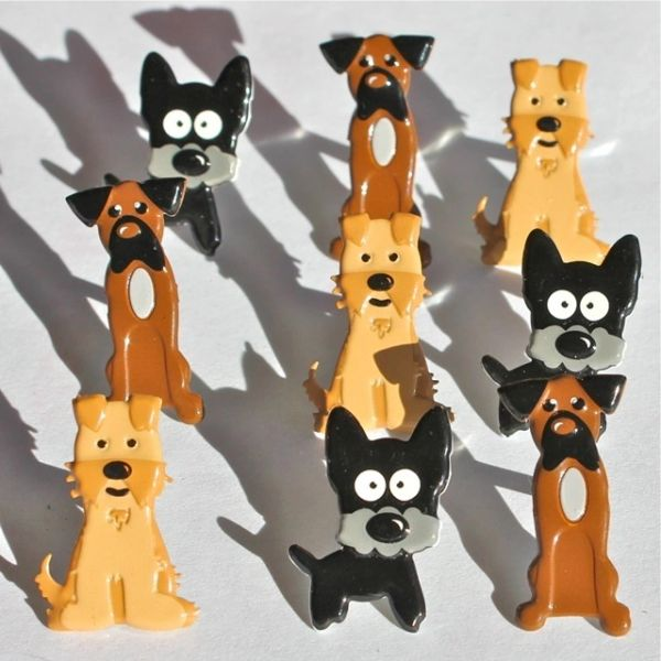 Dog Brads by Eyelet Outlet