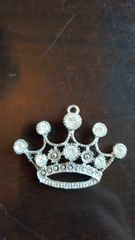 Rhinestone Princess Crown Tiara (60mm)