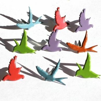 Flying Birds (Fall) by Eyelet Outlet