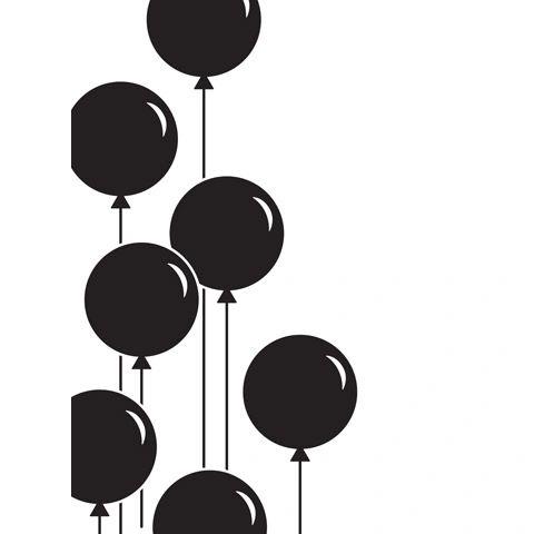 Balloons - Darice Embossing Folder - 4.25 x 5.75 inches