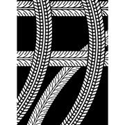 "Tire Tracks Embossing Folder (4.25""x5.75"") by Darice"