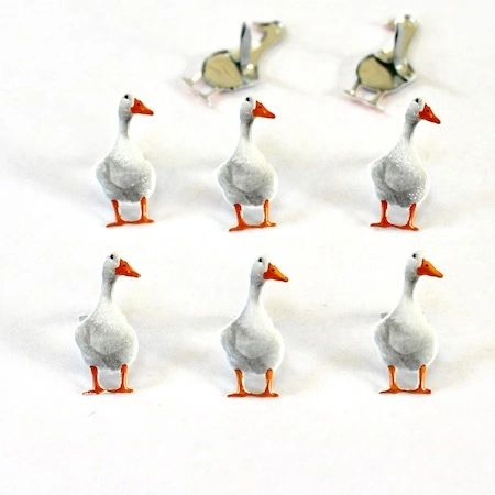 Duck Brads (12pcs) by Eyelet Outlet