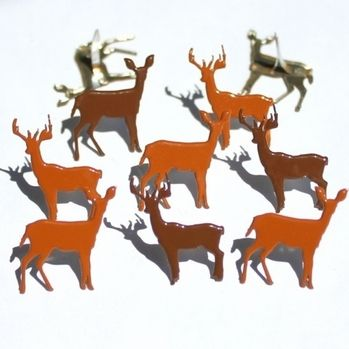 Deer Brads by Eyelet Outlet