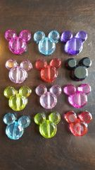 Mouse Head Beads 34mm (6pcs)