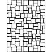 "Brick Wall Pattern Embossing Folder (4.25""x5.75"") by Darice"