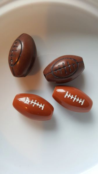 Football Beads 28mm (10pcs)