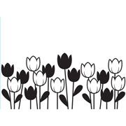 Spring Tulips - Darice Embossing Folder - 4.25 x 5.75 inches