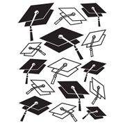 "Graduation Cap Embossing Folder (4.25""x5.75"") by Darice"