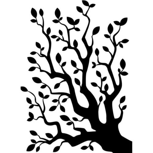 "Tree Branch with Leaves Embossing Folder (4.25""x5.75"") by Darice"