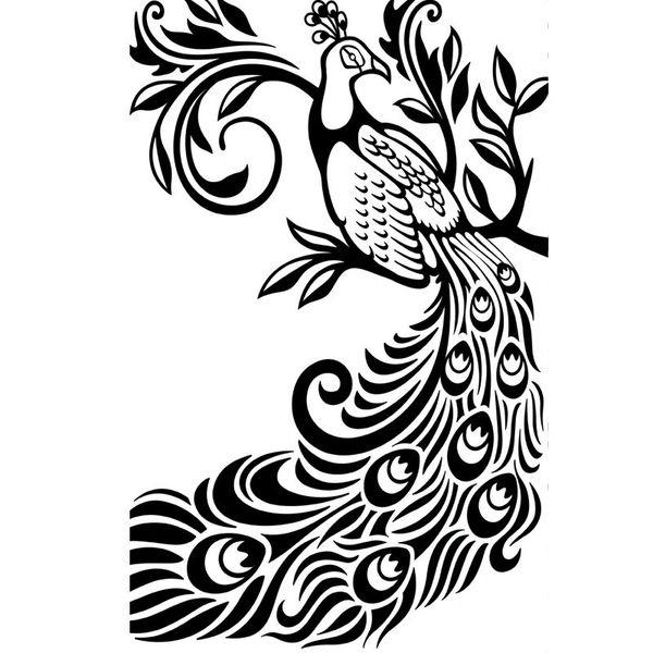 "Peacock Embossing Folder (4.25""x5.75"") by Darice"