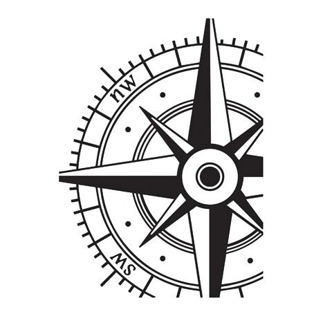 """Compass Embossing Folder (4.24""""x5.75"""") by Darice"""