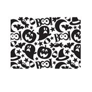 Darice Embossing Folder - Halloween Collage - 4.25 x 5.75 inches