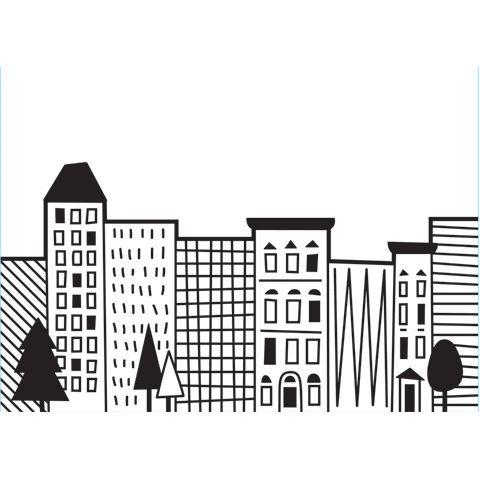 "City Scene Embossing Folder (4.24""x5.75"") by Darice"