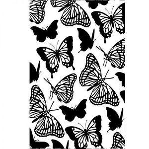 """Butterflies Embossing Folder (4.25""""x5.75"""") by Darice"""