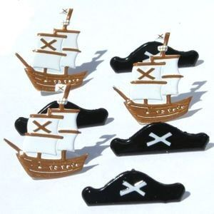 Pirate brads by Eyelet Outlet