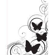Butterfly Embossing Folder 4.25 x 5.75 by Darice