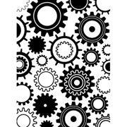 Steampunk Gears Embossing Folder 4.25 x 5.75 by Darice