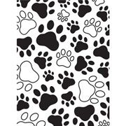 Paws Embossing Folder 4.25 x 5.75 by Darice