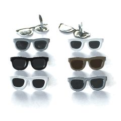 Dark Sunglasses brads by Eyelet Outlet