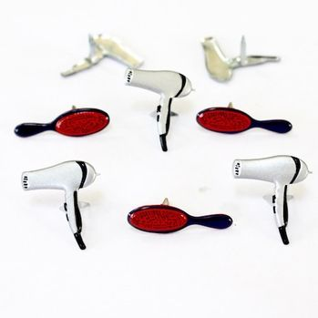 Hair Styling Brads (hair dryer & brush) by Eyelet Outlet