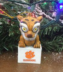 Tiki Mascot Clemson Tigers Ornament