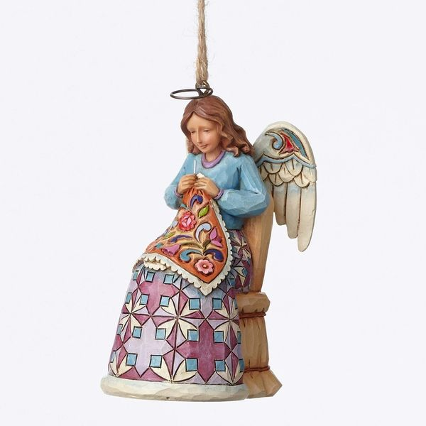 SEWING ANGEL CHRISTMAS ORNAMENT