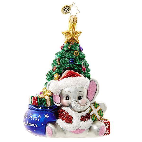 CHRISTOPHER RADKO A Trunk-ful First Ornament