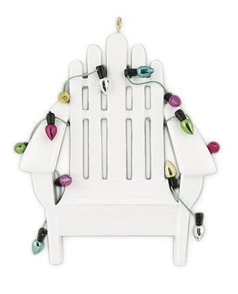 BEACH CHAIR PERSONALIZED ORNAMENT