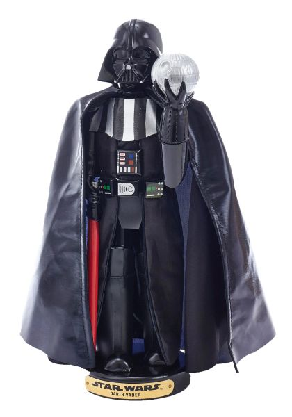 Kurt Adler Darth Vader With Death Star Nutcracker