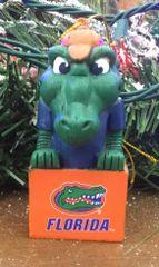Tiki Mascot Florida Gator Ornament