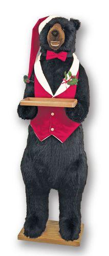 Ditz Design Christmas Butler Bear