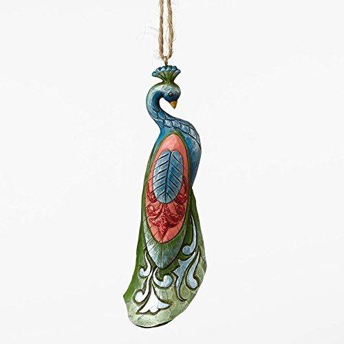 Jim Shore Wonderland Peacock Ormament
