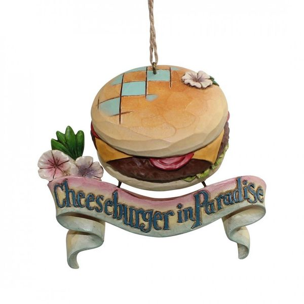 Jim Shore Cheeseburger Paradise Ornament