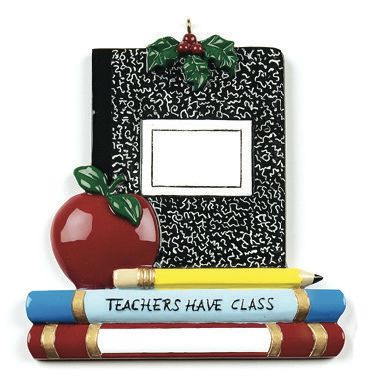 TEACHERS HAVE CLASS PERSONALIZED ORNAMENT