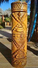 Dual Hawaiian tiki