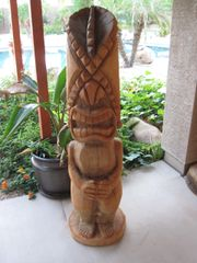Hawaiian Tiki God Lono