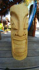 Angry Open Eye Retro Tiki