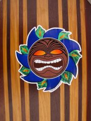 Tiki Republic color decal.