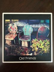 Old Friends - Original Mississippi Delta Photography Coasters