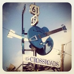 The Crossroads - Original Mississippi Delta Photography Coasters