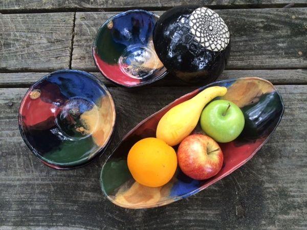 Oval Serving Bowl - Medium