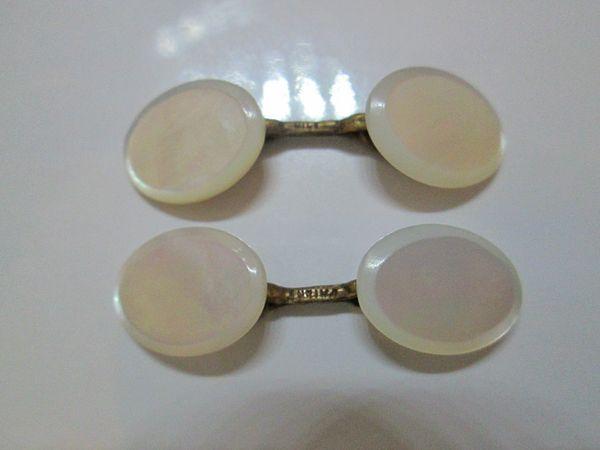 Oval MOP Vintage Cufflinks.