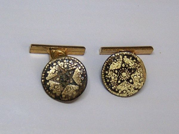 Convert Spanish Star Button Cufflinks.