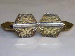 Art Deco Traditional Cufflinks. Western Style Cufflinks. CLP Co Cufflinks.