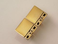 Unique Vintage Accounting Cufflinks. Percent Cuff Links